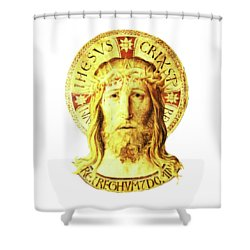 Holy Face Shower Curtain