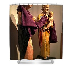 Holy Family - Lent Shower Curtain