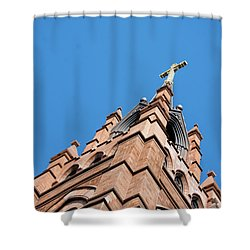 Huguenot Church Shower Curtain