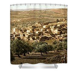 Holy Land - Bethany  Shower Curtain