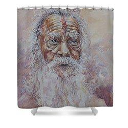 Holy Man Shower Curtain