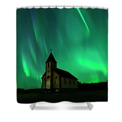 Holy Places Shower Curtain