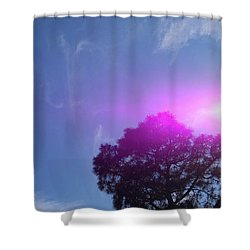 Holy Spirit- Yes We Believe Shower Curtain