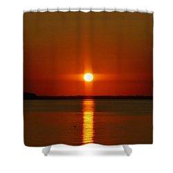 Holy Sunset Shower Curtain by William Bartholomew