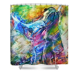 Holy Surrender Shower Curtain