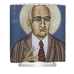Holy Theologian Hans Urs Von Balthasar 110 Shower Curtain