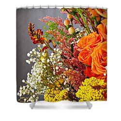 Shower Curtain featuring the photograph Holy Week Flowers 2017 2 by Sarah Loft