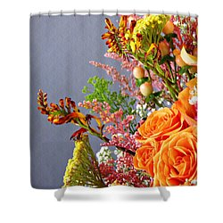 Shower Curtain featuring the photograph Holy Week Flowers 2017 3 by Sarah Loft