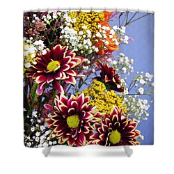 Shower Curtain featuring the photograph Holy Week Flowers 2017 4 by Sarah Loft
