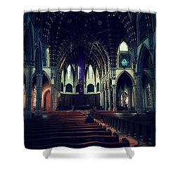 Holy Week Shower Curtain