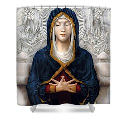 Holy Woman Shower Curtain