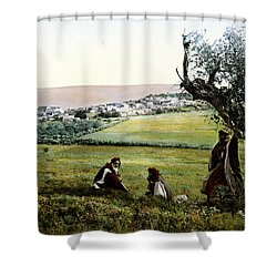 Holyland - Cana Of Galilee  Shower Curtain by Munir Alawi