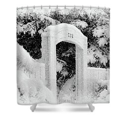 Shower Curtain featuring the photograph Home For Christmas by Blair Wainman