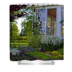 Home Garden Shower Curtain