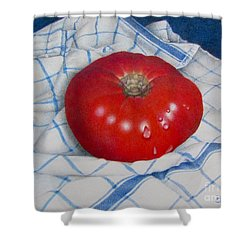 Home Grown Shower Curtain by Pamela Clements