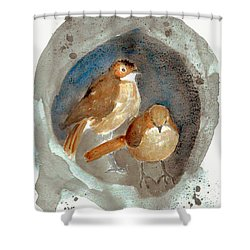 Home Shower Curtain by Jasna Dragun