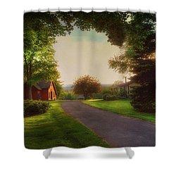 Home Shower Curtain by Joann Vitali