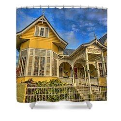 Home Shower Curtain by Nadia Sanowar