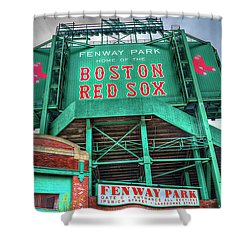 Home Of The Boston Red Sox Shower Curtain