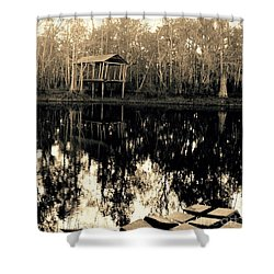 Home Of The Heart Of The South, Fl. Shower Curtain