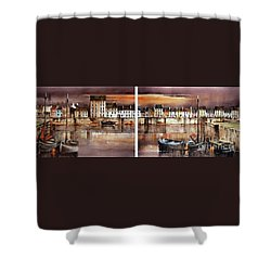 Home Of The Hookers, Galway Citie Shower Curtain