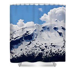 Home Of The North Wind - Skagway Shower Curtain