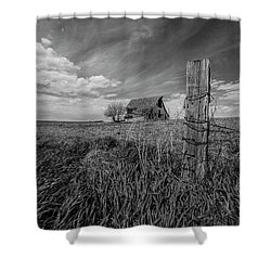 Shower Curtain featuring the photograph Home On The Range  by Aaron J Groen