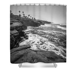 Home Shower Curtain by Ryan Weddle