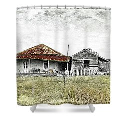 Home Sweet Home 001 Shower Curtain by Kevin Chippindall