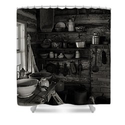 Shower Curtain featuring the photograph Home Sweet Home Kitchen by Joanne Coyle