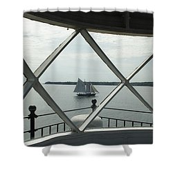 Home To Rockland Shower Curtain