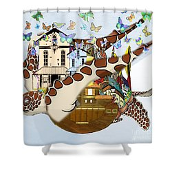 Home Within Home Shower Curtain