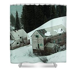 Homes In The Valley Shower Curtain