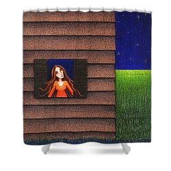 Homesick Shower Curtain