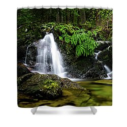 Homesite Falls Autumn Serenity Wide Shower Curtain