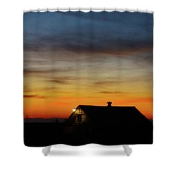 Homestead Shower Curtain by Angi Parks