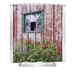 Homestead Shower Curtain by R Thomas Berner