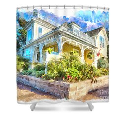 Home,sweet Home Shower Curtain