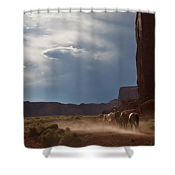 Homeward Bound Shower Curtain