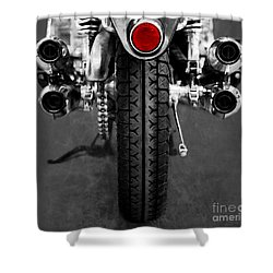 Honda Four Shower Curtain