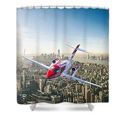 Honda Ha-420 Hondajet Shower Curtain