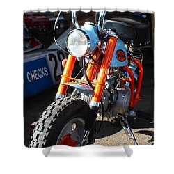 Honda Mini Trail Shower Curtain