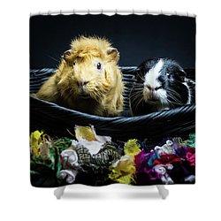 Honey And Kit Shower Curtain