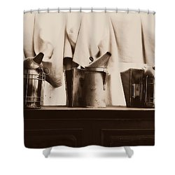 Honeybee Smokers Shower Curtain