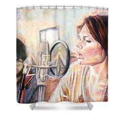 Honeyhoney Band Shower Curtain