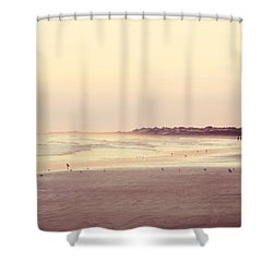 Shower Curtain featuring the photograph Honeymoon by Amy Tyler
