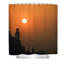 Hong Kong Coast Shower Curtain by Ray Laskowitz - Printscapes