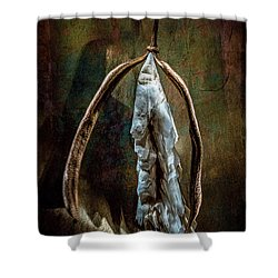 Hong Kong Orchid Seed Pod 1 Shower Curtain