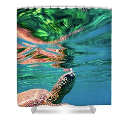 Hono Abstract Shower Curtain