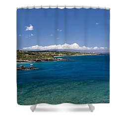 Honolua Bay Shower Curtain by Jim Thompson